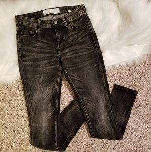 "IRO Jeans - IRO STRETCH DENIM ""RITA"" JEANS IN PAINT PRINT 24"